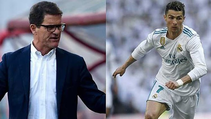 International Football Capello: There have been three footballing geniuses, Ronaldo isn't one of them