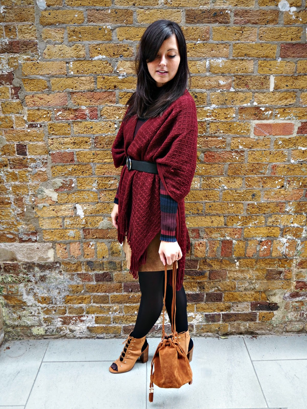 cosy autumn outfit with matalan
