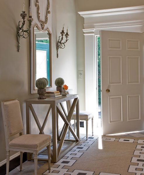Elegant Foyer Furniture: Color Outside The Lines: The Foyer : Console Tables