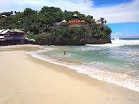 Pantai Pasir Putih Indrayanti Jogja Gunung Kidul Sangat Menawan dan Indah