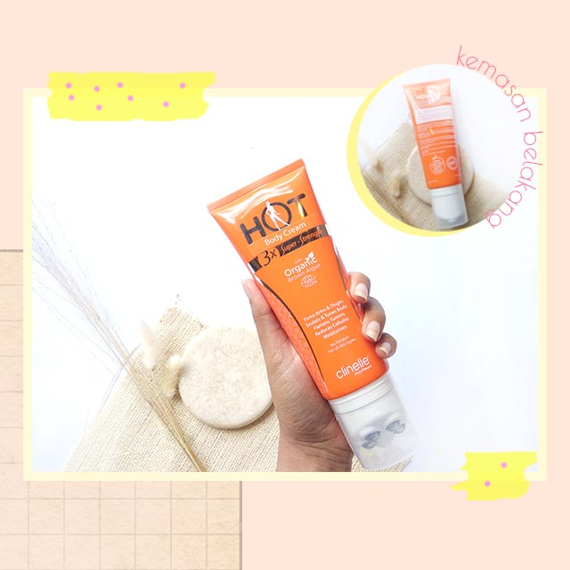 Clinelle Hot Body Cream