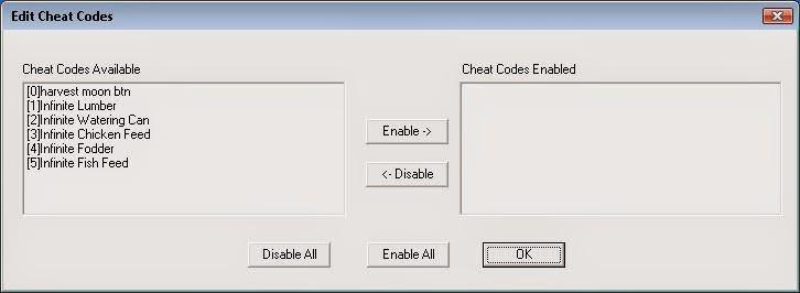 Cara mudah menggunakan menu Cheats codes emulator ePSXe untuk Windows.
