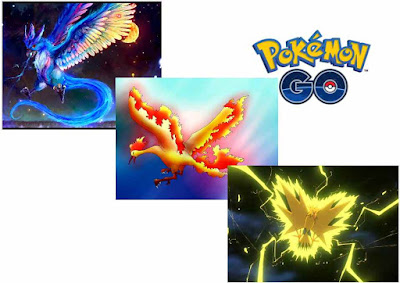 Pokemon Go Monster Legendaris