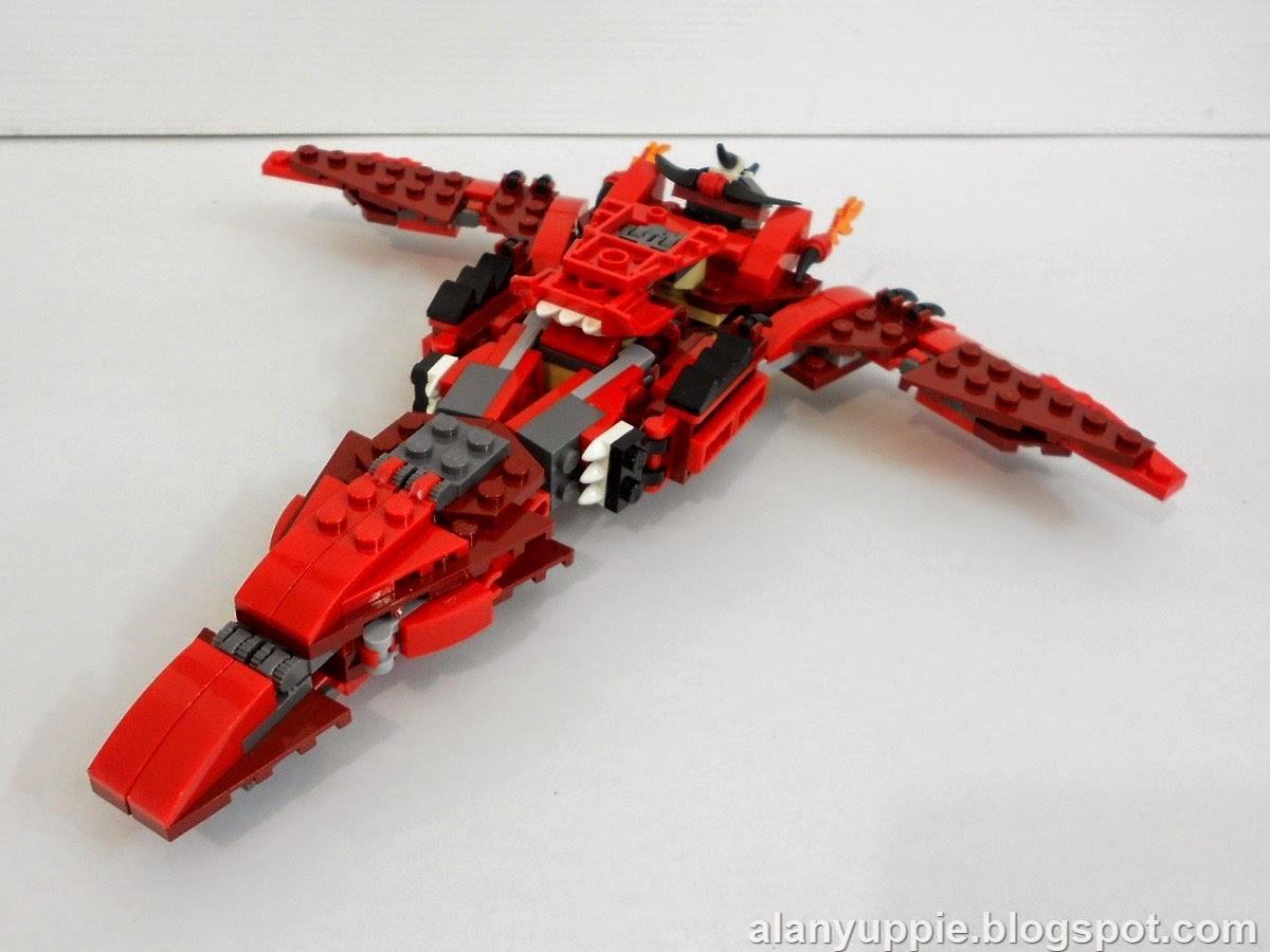 Alanyuppie's LEGO Transformers: LEGO 31032 Alternate Mode