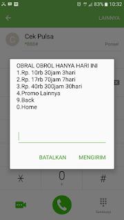 Paket Bicara Obral Obrol Telkomsel 300 Jam 18000 Menti 30 Hari