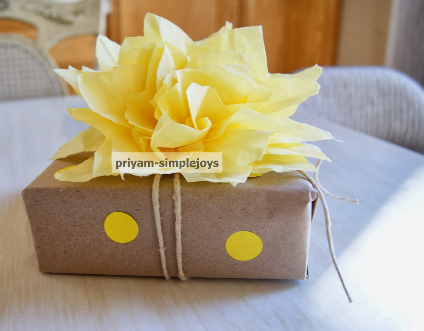 Simplejoys Tissue Paper Flower