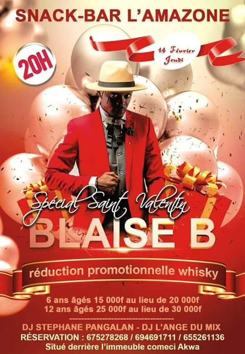 Why Blaise B turned down the show organized by SINAHA Hotel Yaounde for Chilli wawaye.