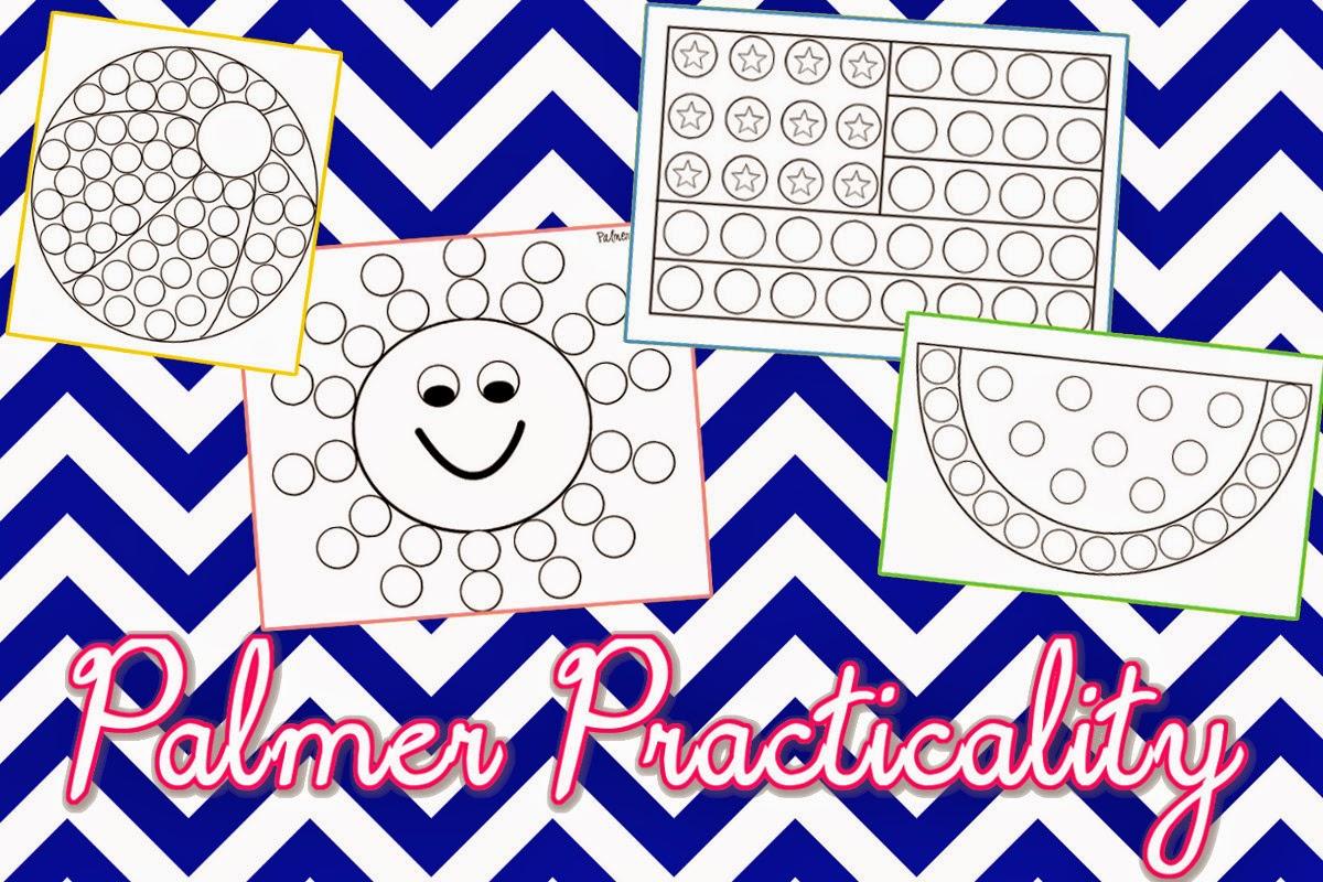 Palmer Practicality Summer Do A Dot Printables