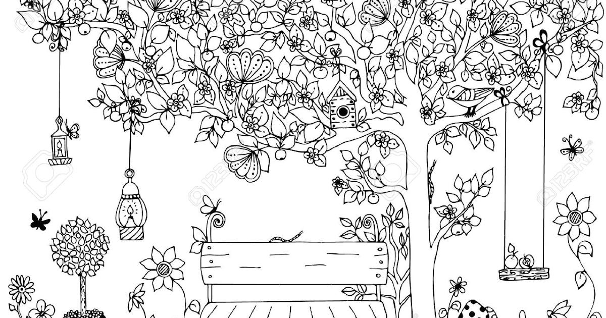 Beginilah Contoh Gambar Taman Bunga Anak Sd yang Wajib ...
