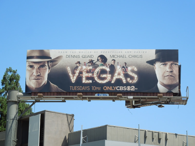 Vegas series premiere billboard