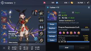 weapon rare biru