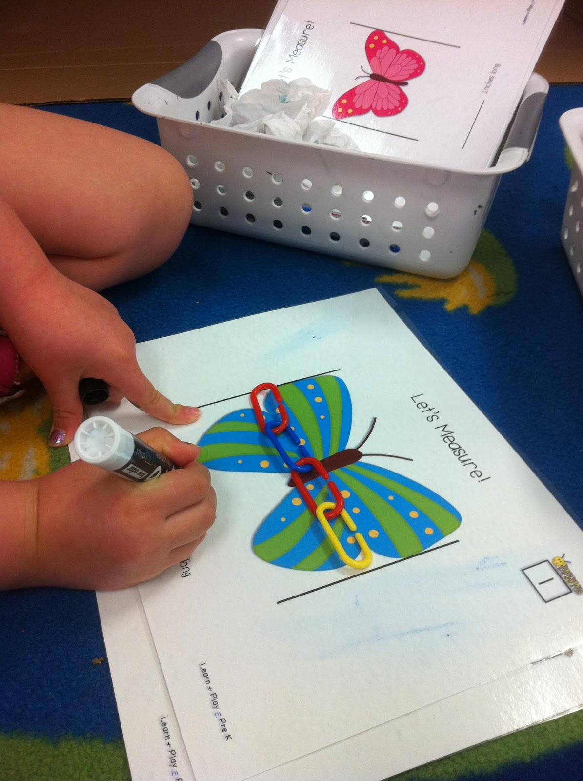 Learn Play Pre K A Mystery Butterflies And The Big Birthday