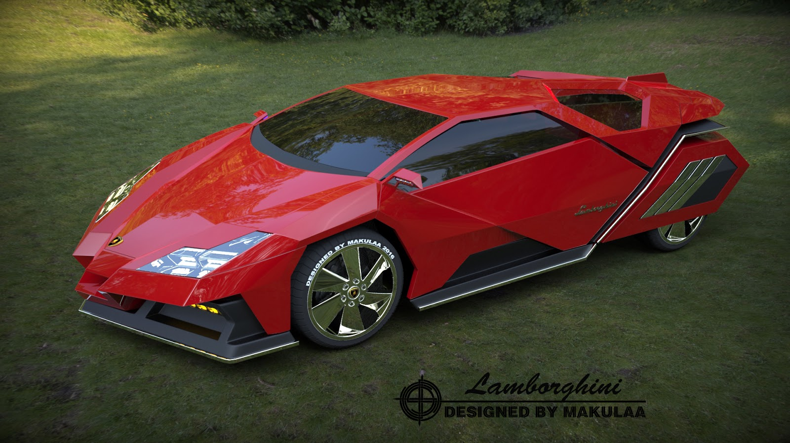 CAR DESIGN CREATOR by Makulaa: NEW Lamborghini new 2017 - 2018