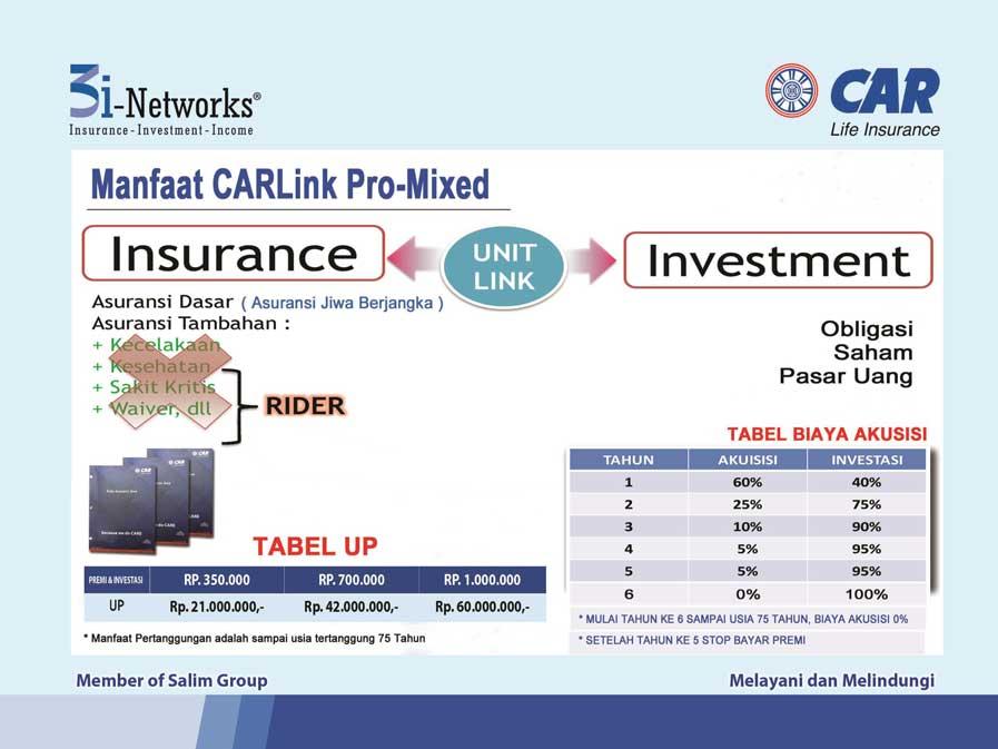 Tabungan proteksi Unit Link