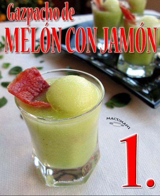 Gazpacho de Melocoton