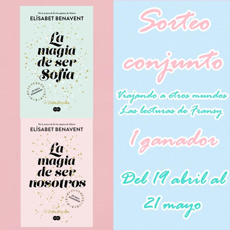 Sorteo conjunto bilogía Sofía