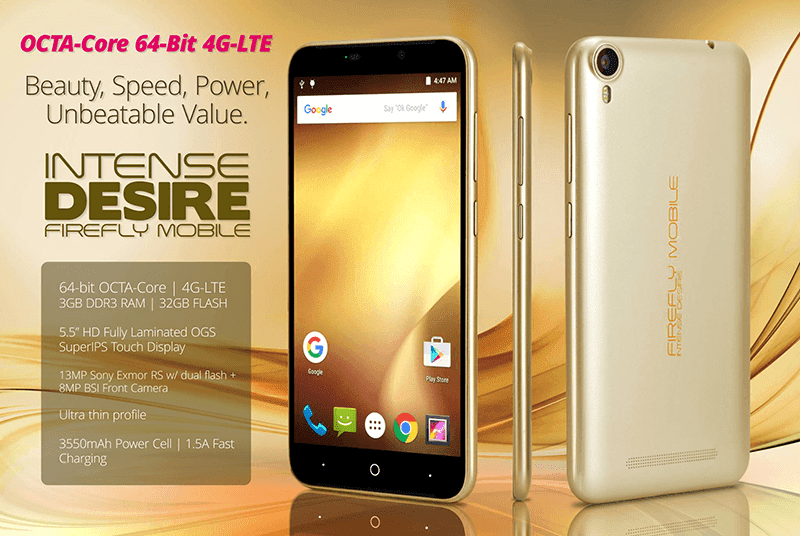 Firefly Mobile Intense Desire announced!