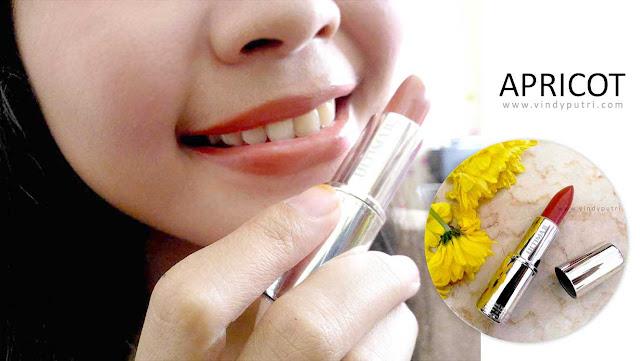 Review ULTIMA II Delicate Lipstick - Apricot