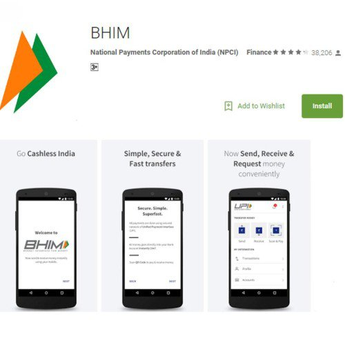 How To Use Bhim App & Procedure to Download Bhim App