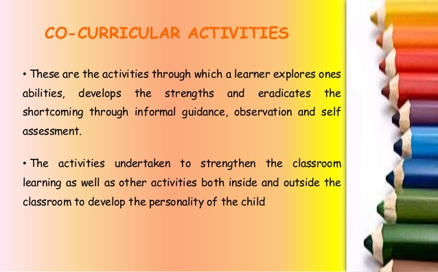 Why our students need co-curricular, not extra-curricular, activities