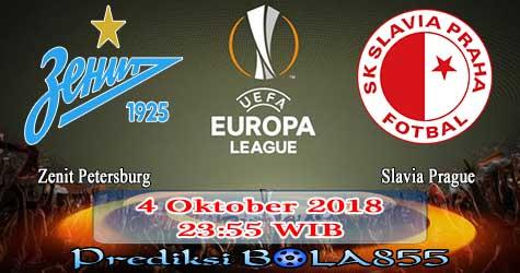 Prediksi Bola855 Zenit Petersburg vs Slavia Prague 4 Oktober 2018