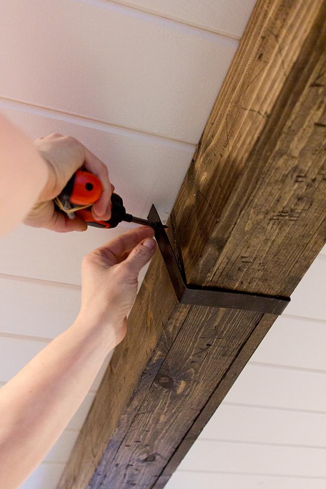 Kitchen Chronicles Diy Wood Beams Jenna Sue Design Blog
