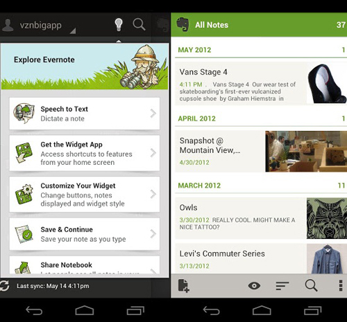 Android And iPhone: Simple Notes Apps for Android Phones