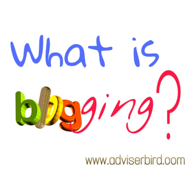 What is the blogging