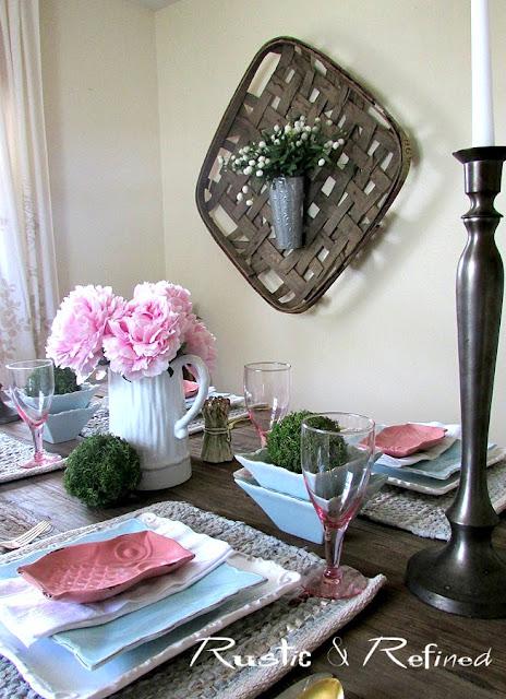 Rustic Tablescape Ideas