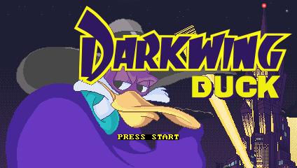 Darkwing Duck title screen PC