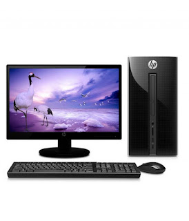PC HP 570 - P038L Dual Core  DOS  Desktop Black