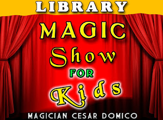 Marion Baysinger Memorial Library Magic Show