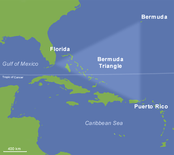 Norwegian coast Bermuda Triangle theory