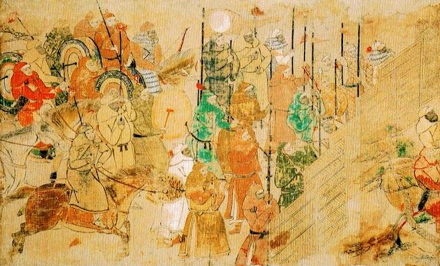 Mōko Shūrai Ekotoba 13th Century