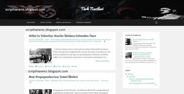 Blogger Nazi Teması İndir 2017