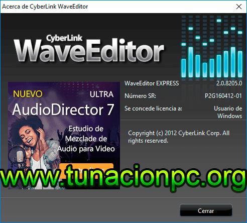 CyberLink WaveEditor Imagen