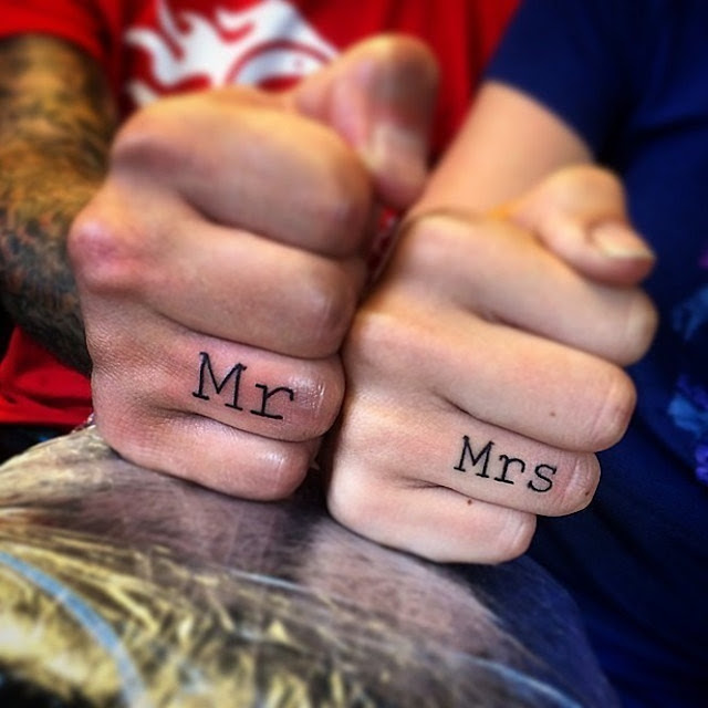 Tatuagens incríveis que substituem o anel de casamento