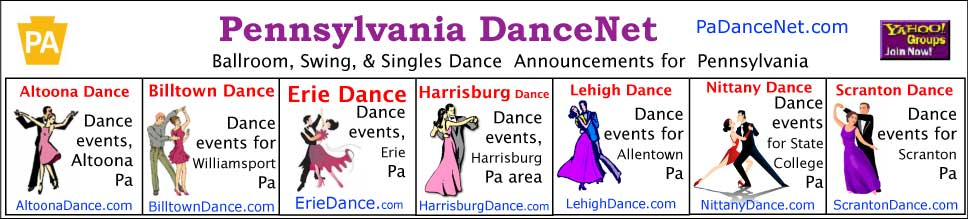 Ballroom Dance Groups in Central Pennsylvania | Pa DanceNet.com
