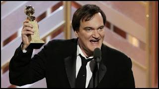 Quentin Tarantino en los Globos de Oro 2016