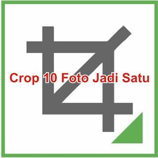 Cara Crop 10 foto jadi satu dengan CorelDraw