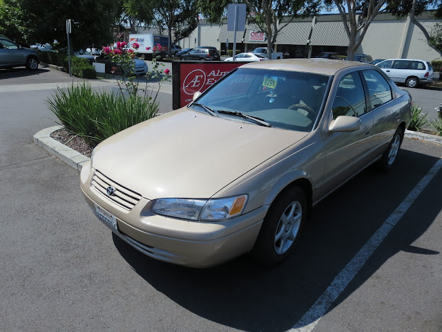 1999 Camry after Overall Paint Job at Almost Everything Auto Body.