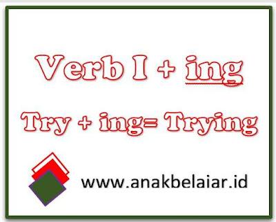 verb I + ing