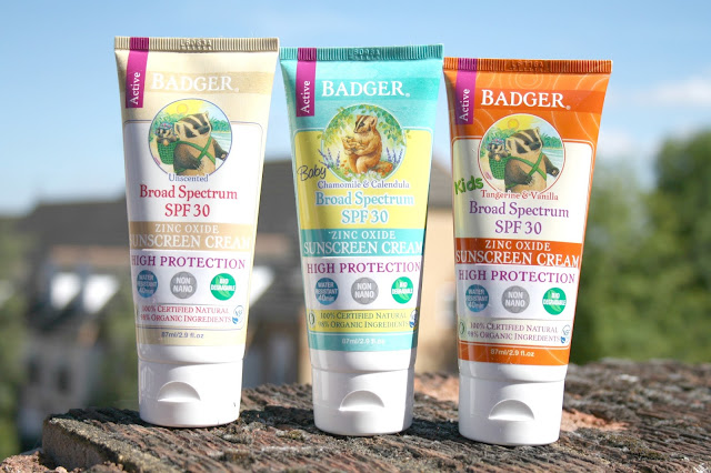 Soak Up The Sun Safely with Badger Sunscreens