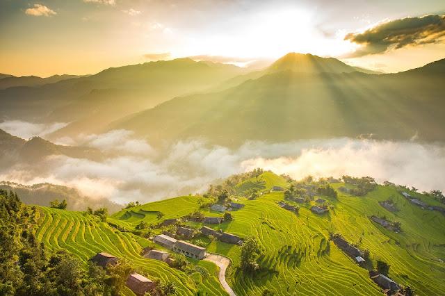 Sức hút từ vẻ đẹp hoang sơ của Hoàng Su Phì