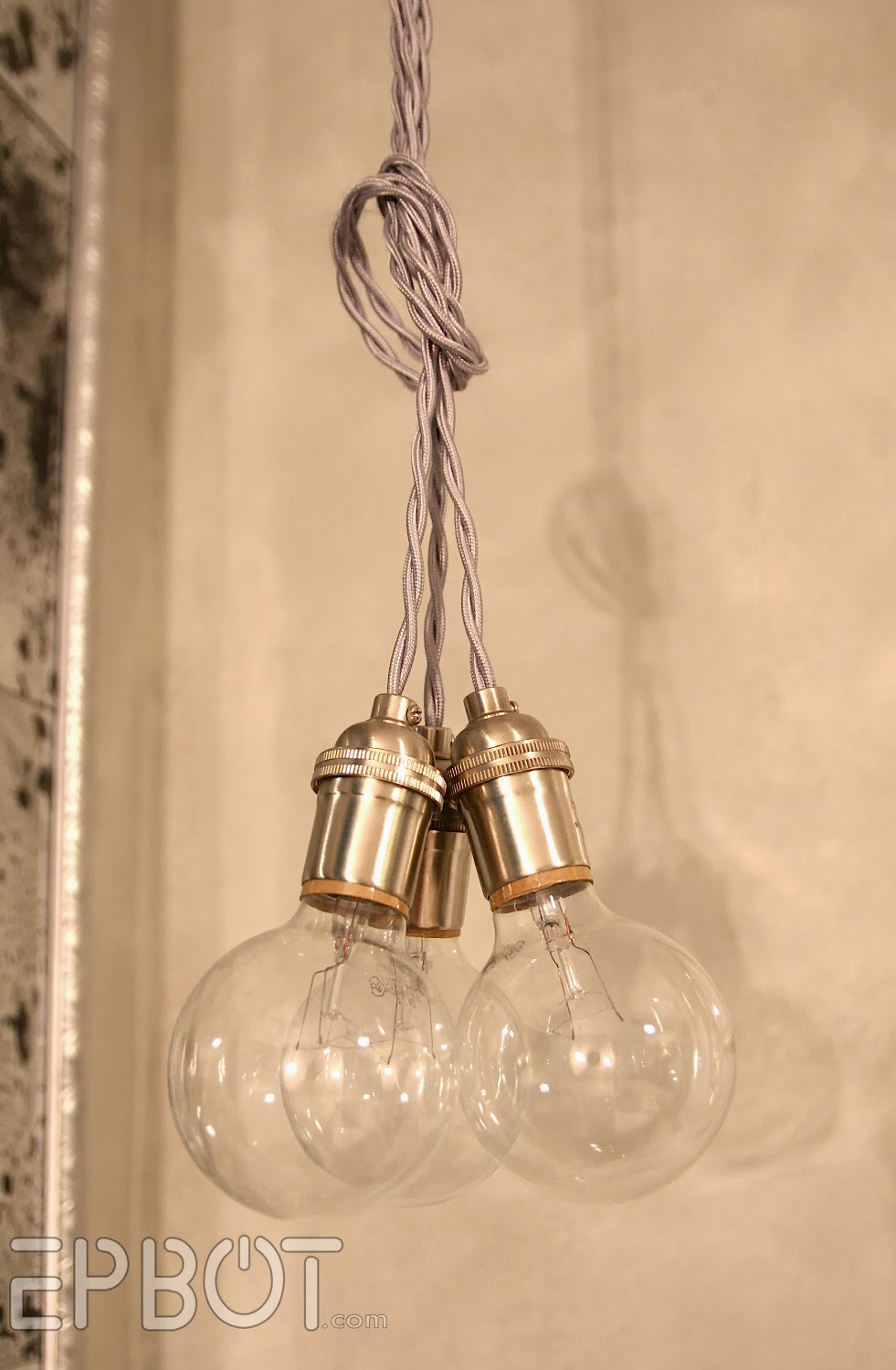 Bare Bulb Hanging Pendant Lights 2 Wire Your Own Pendant Lighting - Cheap, Easy, u0026 Fun!