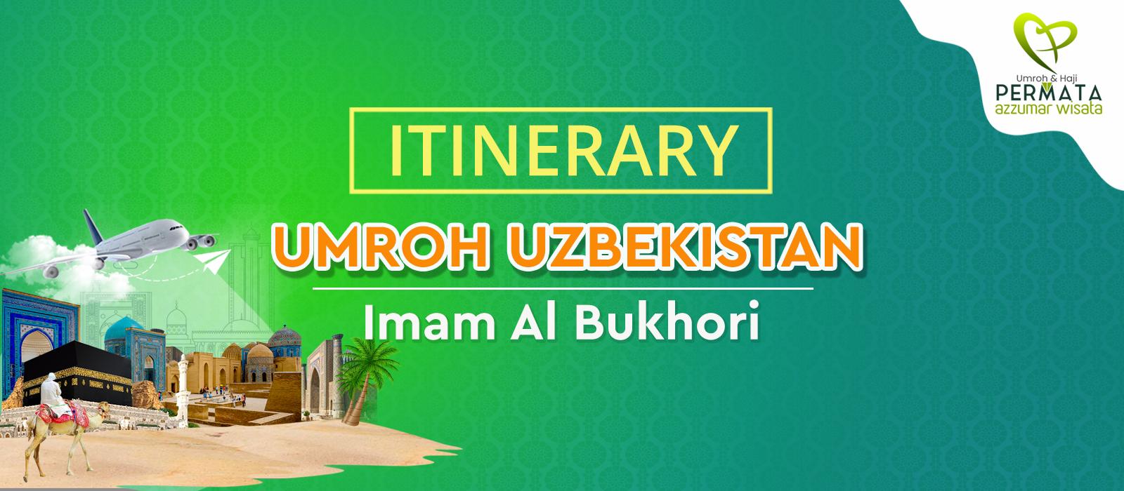 program Umroh plus uzbekistan 12 hari