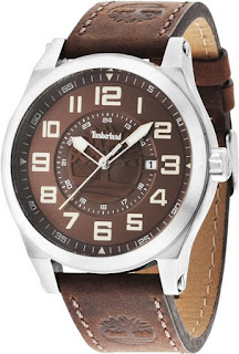 TIMBERLAND Tiden Brown Leather Strap 14644JS/12