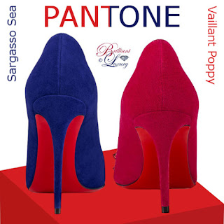 Brilliant Luxury ♦ Christian Louboutin trendy Pantone colors