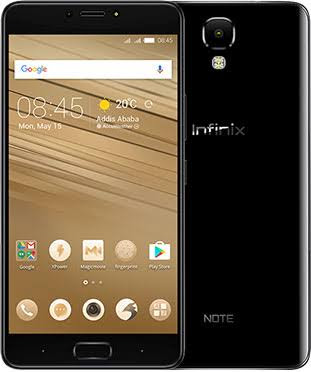 Infinix Note 4 Full Specs, Images & Price + Where To Buy It In Nigeria