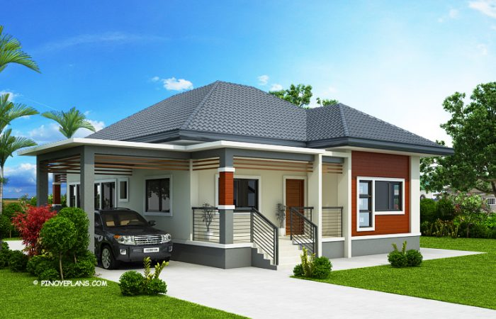 20 Modern Polish Bungalow You Can Build Under 100sqm With